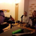 Stéphanie et Aziz à l'émission Vivre FM