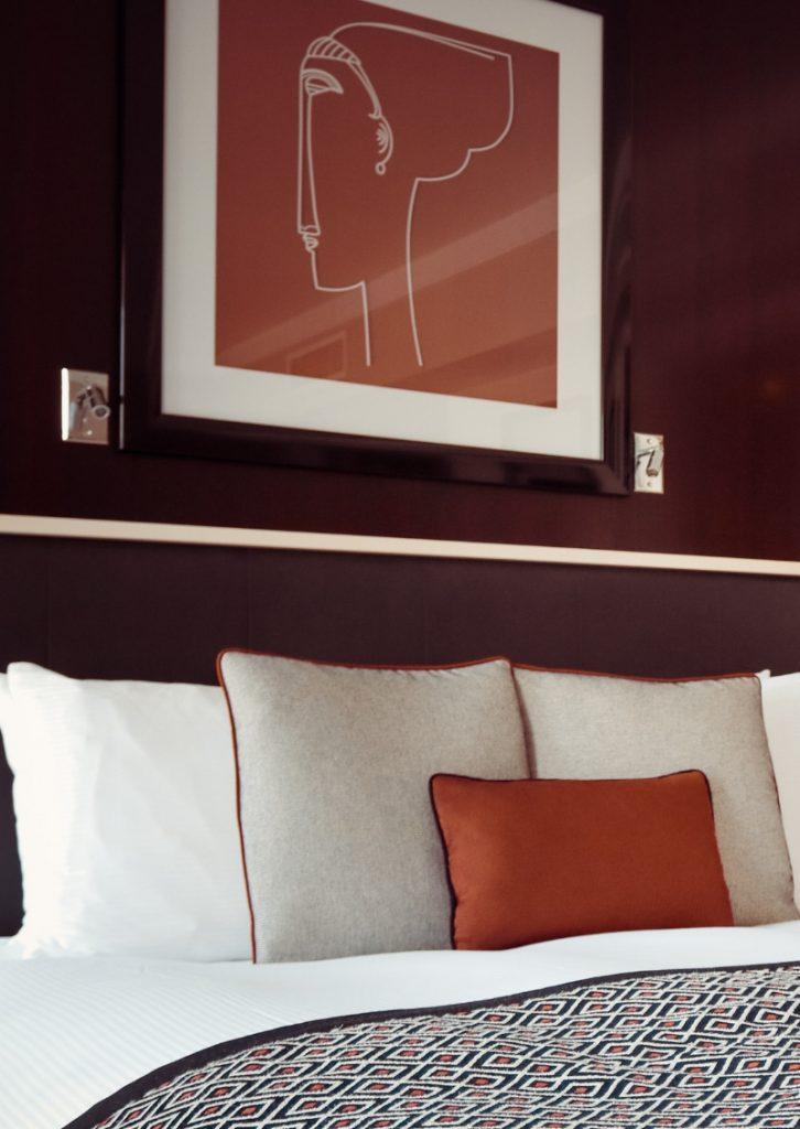 Chambre d'hôtel de luxe
